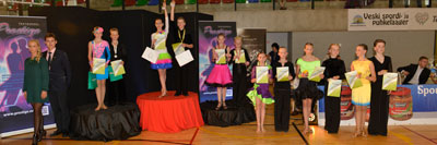 Junior I C Ladina finalistid