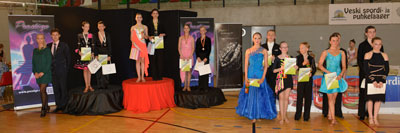 Junior II D Ladina finalistid